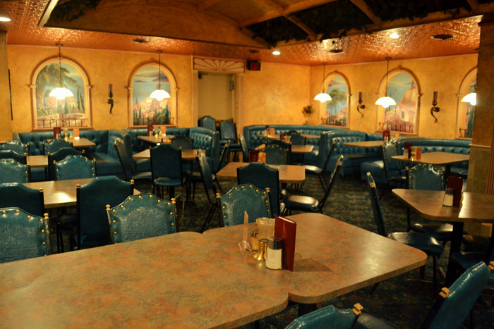 mama mias italian restaurant banquet room holds 55 people